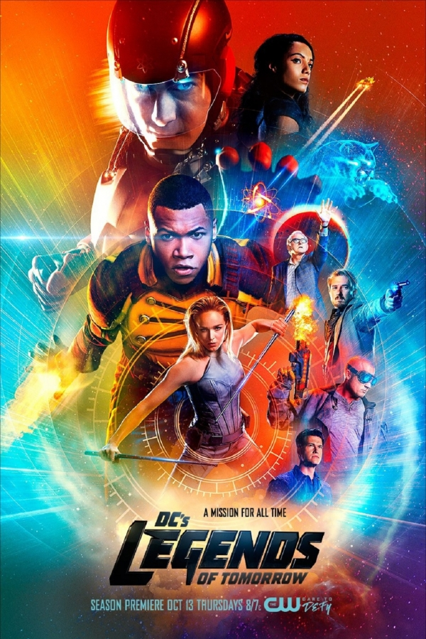 'Legends of Tomorrow' S2 poster