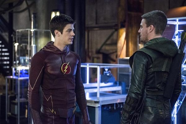 'The Flash' / 'Arrow' cross-over foto 5