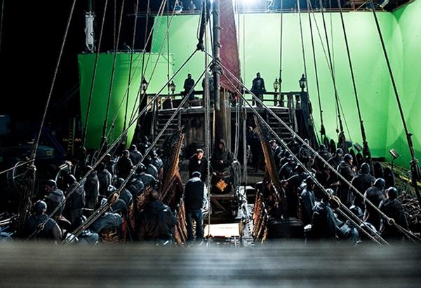 Setfoto veldslag 'Game of Thrones' S04