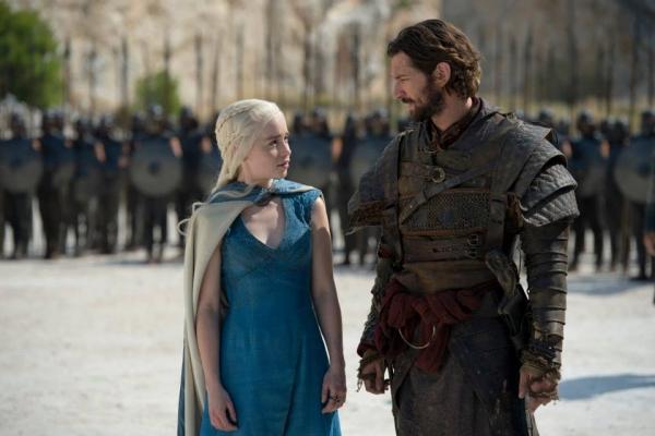 'Game of Thrones' S04 - Daenerys & Daario