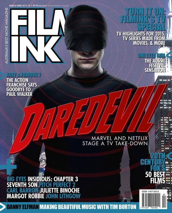 'Daredevil' Film Ink cover