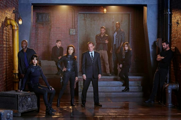 Marvel's Agents of SHIELD Team