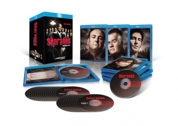 'The Sopranos' complete collection Blu-Ray