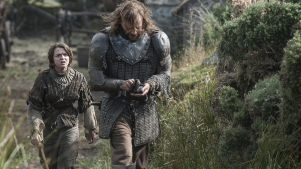 'Game of Thrones' S04 - Arya & The Hound
