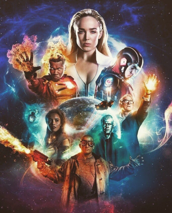 Legends of Tomorrow s3 poster