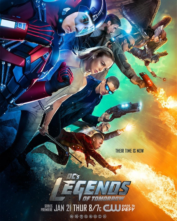 'Legends of Tomorrow' S1 poster
