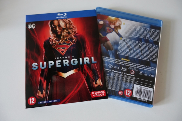 'Supergirl' S4 Cover