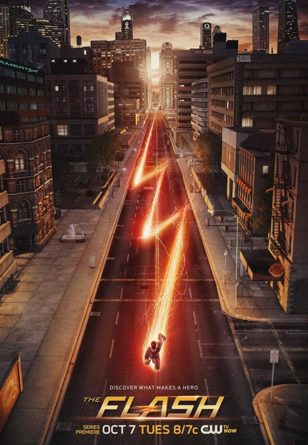 'The Flash' S1 poster