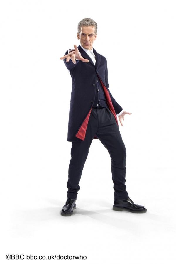 Peter Capaldi als Doctor Who