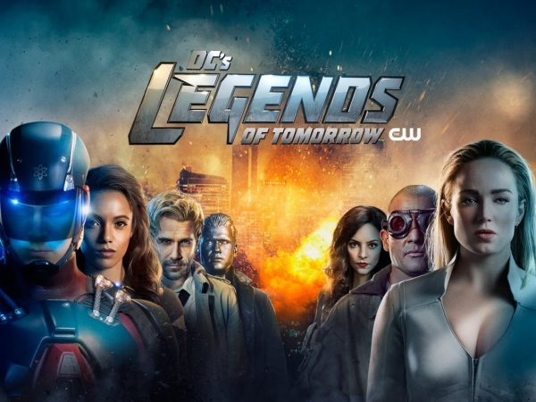 Legends of Tomorrow s4 poster