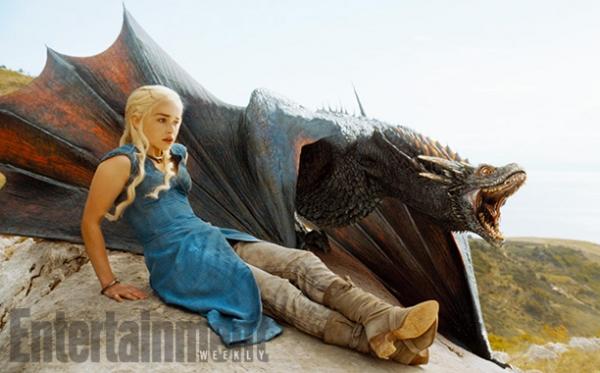 'Game of Thrones' S04 - Daenerys & Drogon