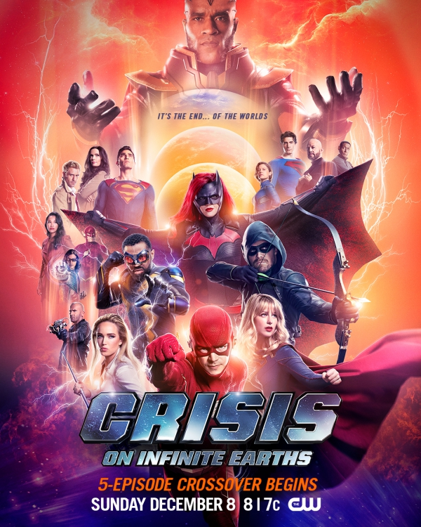 'Crisis on Infinite Earths' Poster