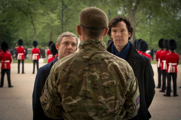 Sherlock Series 3 'Sherlock & Watson' #2
