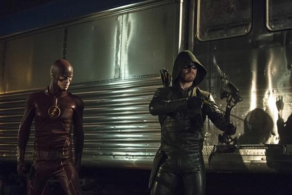 'The Flash' / 'Arrow' cross-over foto 2