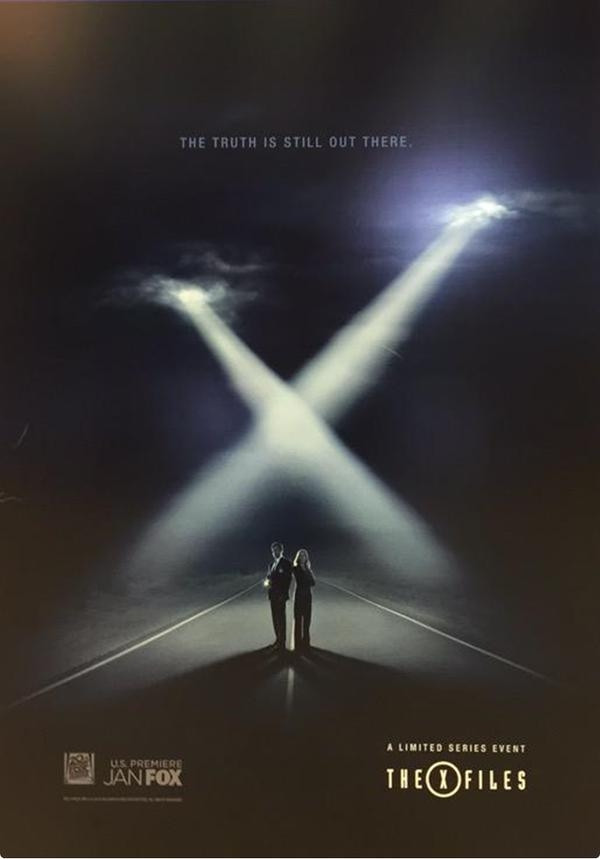 'The X-Files' S10 poster Cannes