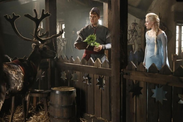 Georgina Haig Once Upon A Time Nieuwe foto's 'Frozen'...