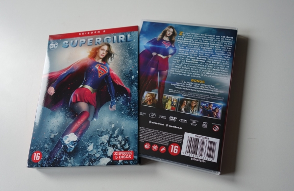 'Supergirl' S2 cover