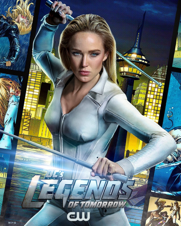 Legends of Tomorrow poster s6 white canary