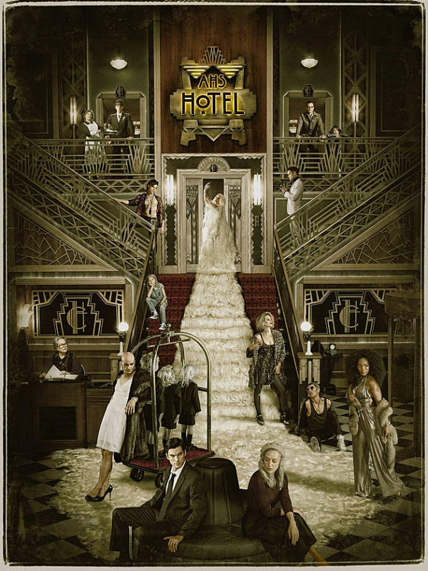 American Horror Story Hotel poster