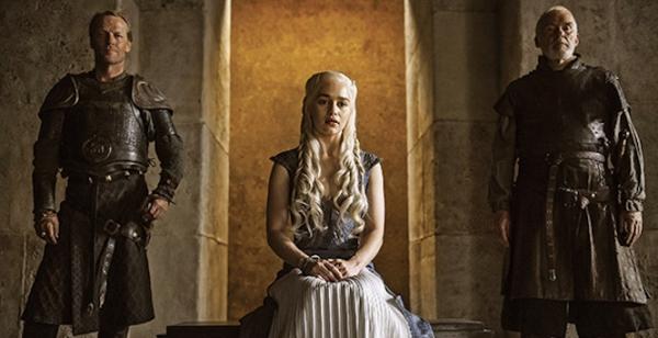 'Game of Thrones' S04 - Daenerys, Jorah & Barristan Selmy