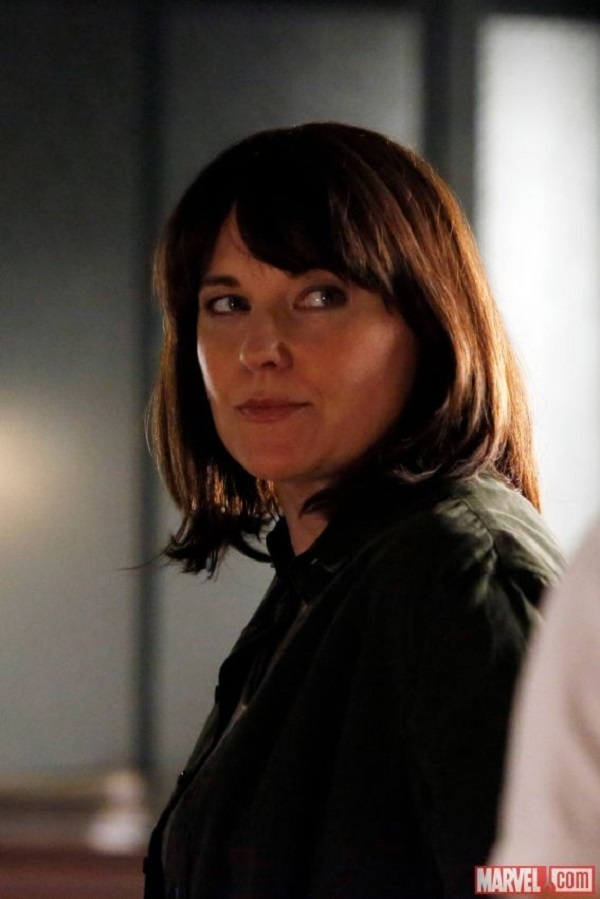 Lucy Lawless in Agents of SHIELD