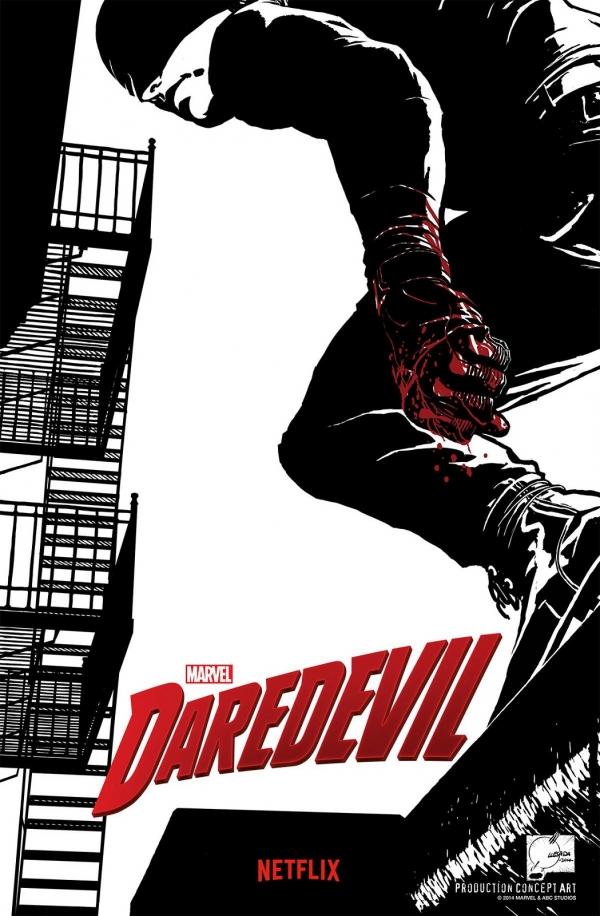'Daredevil' S1 poster / concept-art