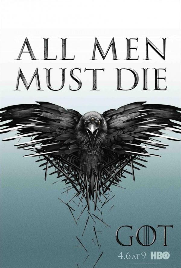 Officiële poster 'Game of Thrones' seizoen 4