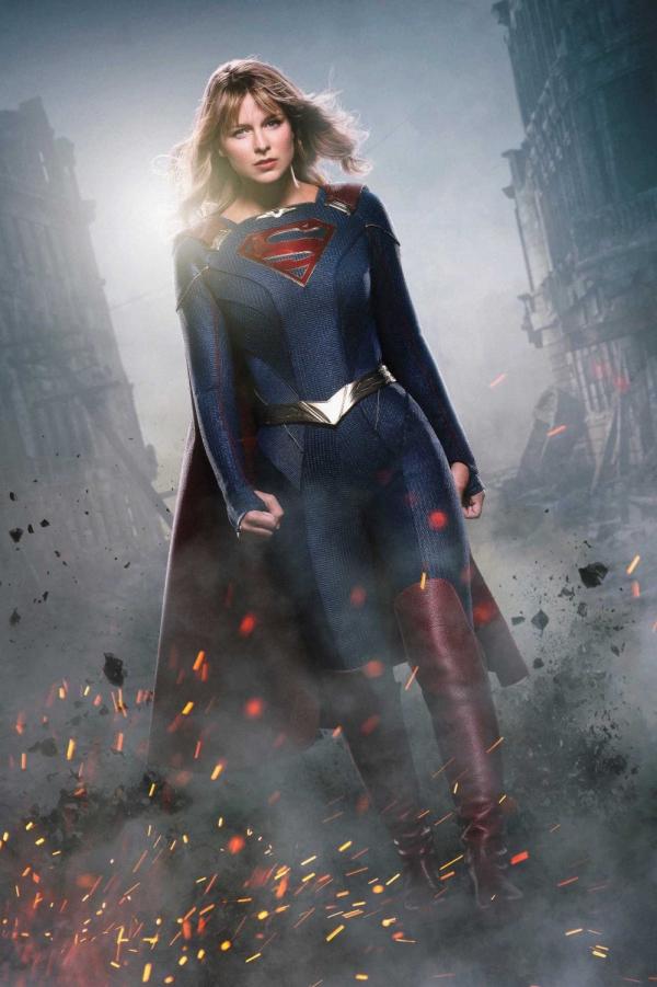 Supergirl foto nieuw kostuum