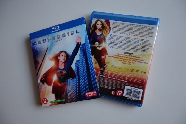 'Supergirl' S1 Blu-ray pack