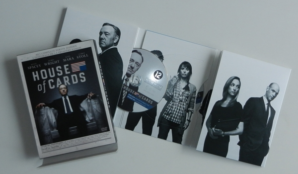 Dvd-hoes 'House of Cards' seizoen 1