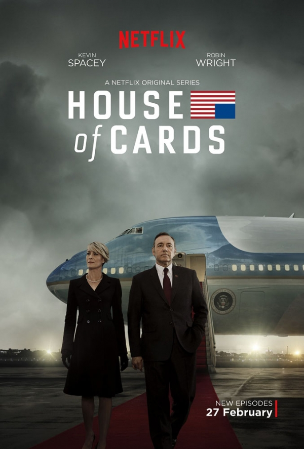 'House of Cards' S3 poster