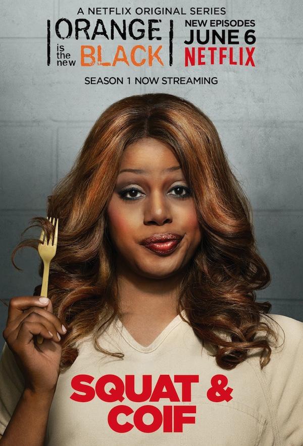 Poster 4 'Orange Is the New Black' seizoen 2