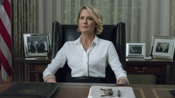 Robin Wright redde 'House of Cards'