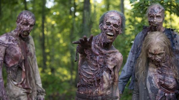 Reünie op officiële foto 'The Walking Dead'