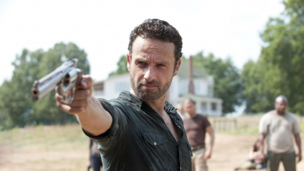 The Walking Deads Rick Grimes is massamoordenaar