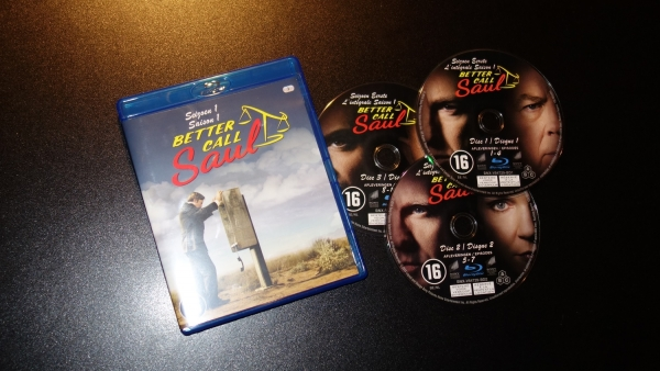 Tv-serie op Blu-Ray: Better Call Saul