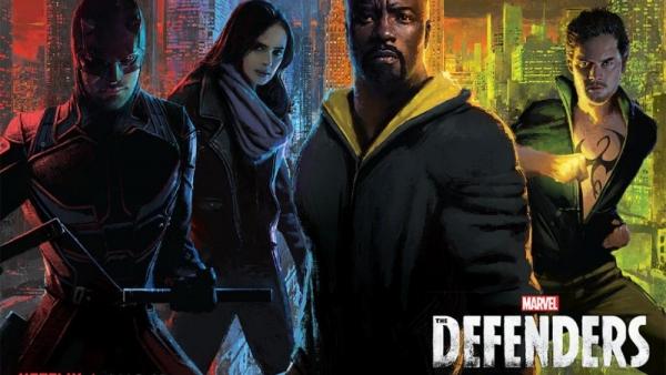 The Defenders en The Punisher op posters