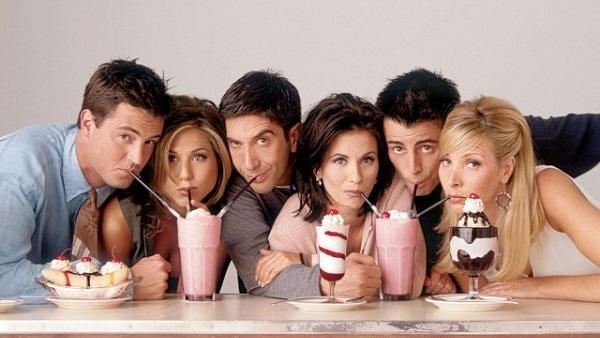 Mini-reünie Friends bij Jimmy Kimmel