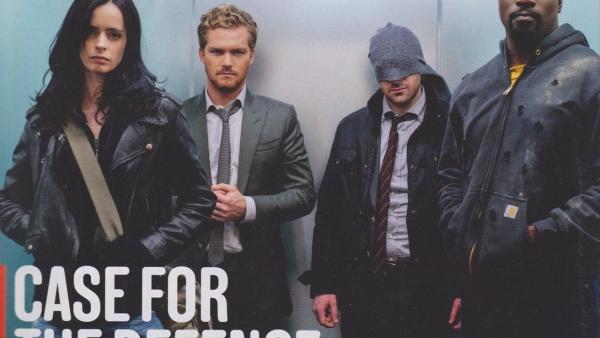 Nieuwe foto 'The Defenders'