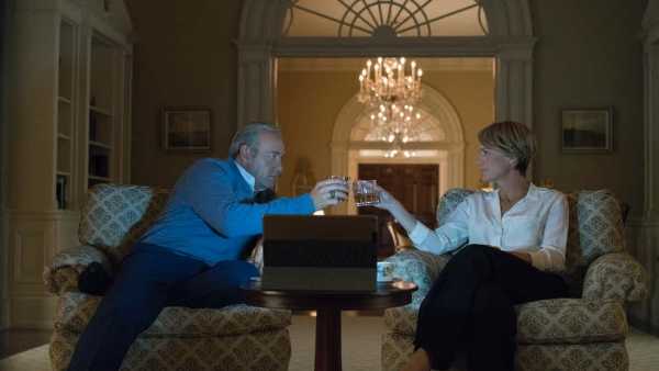 Eerste foto's S5 House of Cards