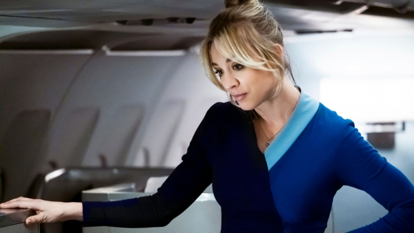 Speciale tattoo Kaley Cuoco 'The Flight Attendant'