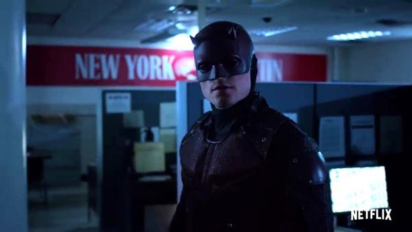 Nieuwe schurk in trailer 'Daredevil' seizoen 3