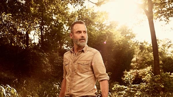 Rick en Shane op foto 'The Walking Dead'