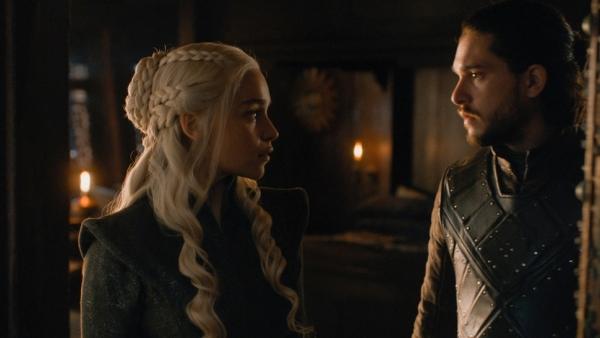 Jon en Dany krijgen het zwaar in Game of Thrones