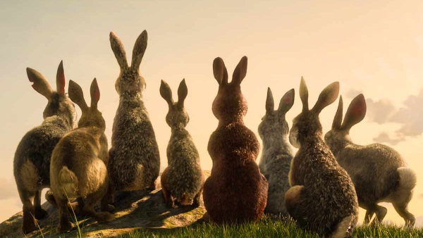 Moordlustige konijnen in trailer Watership Down