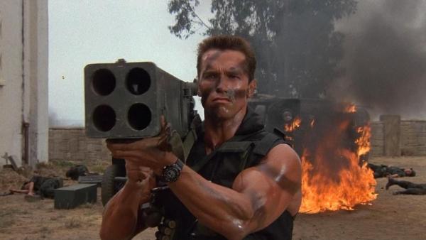 Schwarzenegger gecast in 'Outrider'