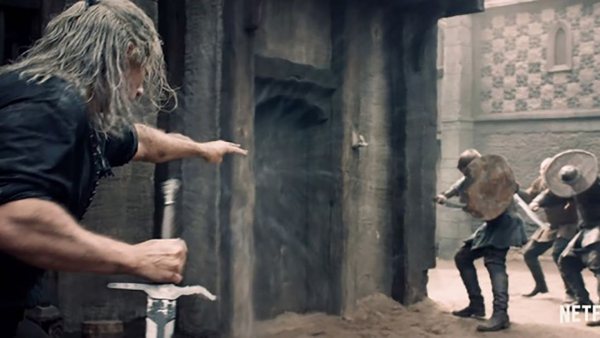 Stoere video toont stunts 'The Witcher'