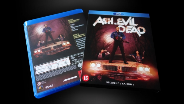 Tv-serie op Blu-Ray: Ash vs Evil Dead