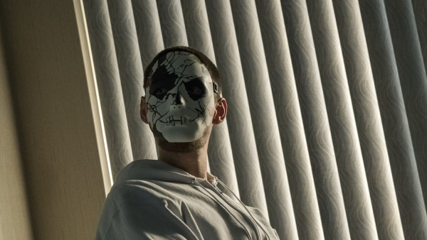 Verknipte Jigsaw in clip 'The Punisher'