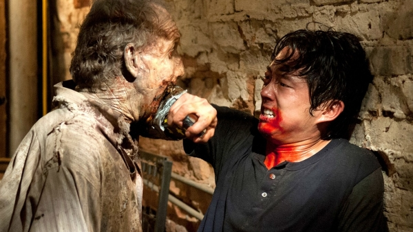 Glenn terug in 'The Walking Dead'?